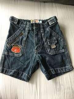 Fox Baby Denim Shorts