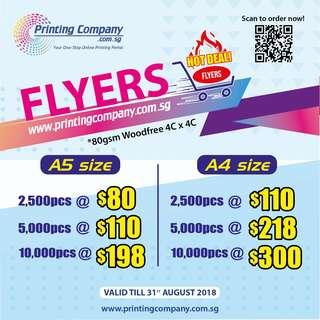 Hot Deal Flyers!