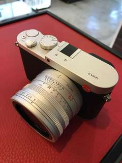 Leica Q Camera (Black or Silver)