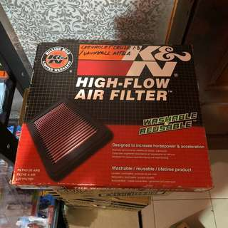 Chevrolet Cruze K&N Air Filter