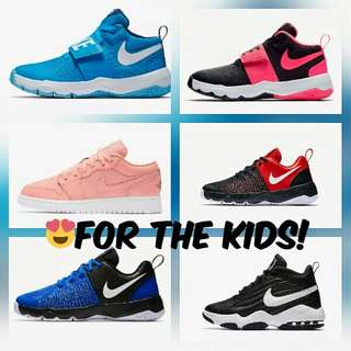 All kinds of Nikes and much more