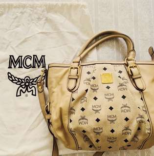 Authentic MCM sling bag Tote