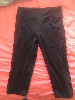 Black Cotton On leggings 3/4