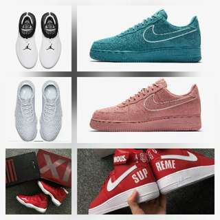 All kinds of shoes nike and all