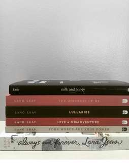 Lang Leav Set- 1200, Always and Forever 250, Milk and Honey 300