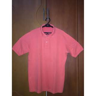 Giordano Dry-Tech Orange Polo Shirt