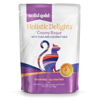 SOLID GOLD HOLISTIC DELIGHT BISQUE - TUNA & COCONUT MILK (Pack of 24)