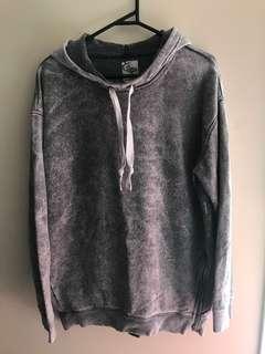 Reebok marble grey hoodie