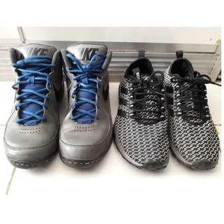 Dijual sepatu Basket Nike Overflow Original BNIB + Sepatu adidas Superflex BNWB
