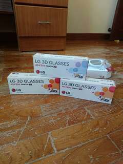 LG 3D Glasses AG-F200 and AG-F210