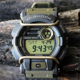 ⌚️❤️ Brand New 100% Authentic Casio Gshock GD400 Gold Bullsbar Watch Unisex with FREE DELIVERY G-Shock
