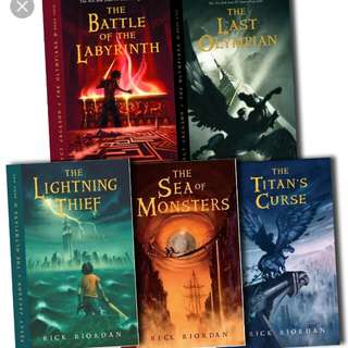 Percy Jackson series ebooks