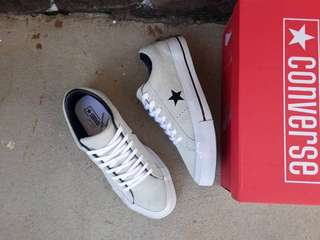 CONVERSE LOW ONE STAR S GREY/WHITE