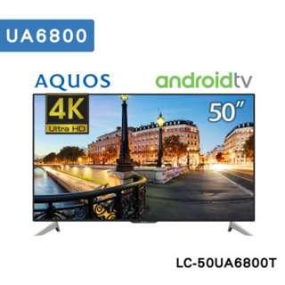 SHARP夏普50吋4K智能連網液晶電視(搭載Android)LC-50UA6800T