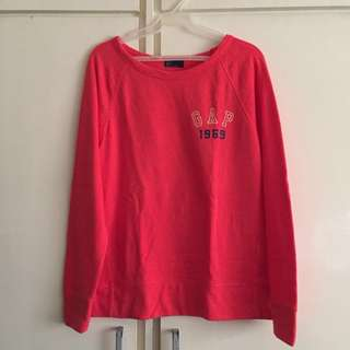 GAP Authentic Vintage Red Pull Over