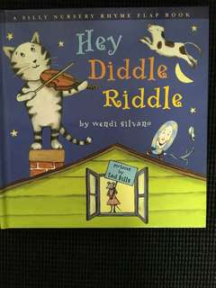 Hey Diddle Riddle Rhyme Flap Book