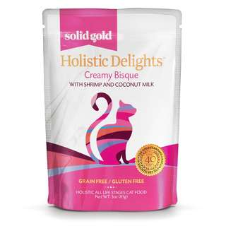 SOLID GOLD HOLISTIC DELIGHT BISQUE - SHRIMP & COCONUT MILK (Case of 24)