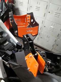 KTM Rallye headfairing frame