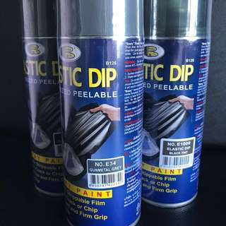 Plasti Dip Rubber Spray Paints (removable)