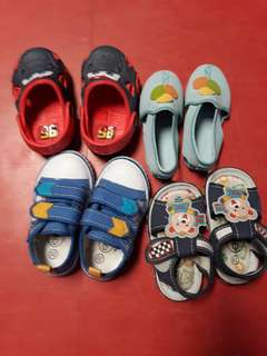 Pre loved Baby shoes and sandals. size10 months ang up