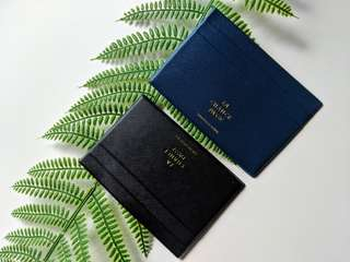 Brand New Cardholder - Available in Navy Deep Blue & Black