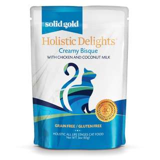 SOLID GOLD HOLISTIC DELIGHT BISQUE - CHICKEN & COCONUT MILK (Case of 24)