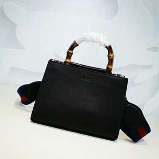 Gucci Bamboo Shopper Mini Handle Bag