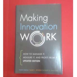 Making Innovation Work