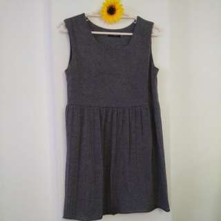 💛XL gray dress