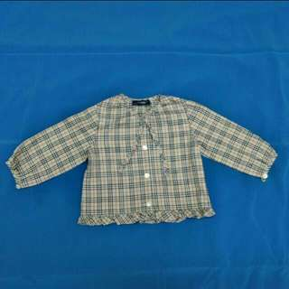 BURBERRY LONDON Baby Girl Shirt Blouse