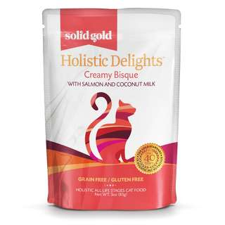 SOLID GOLD HOLISTIC DELIGHT BISQUE - SALMON & COCONUT MILK (Case of 24)