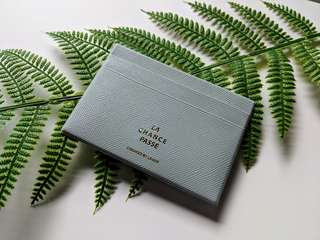 Brand New Minimalistic Cardholder - Dark Mint Green
