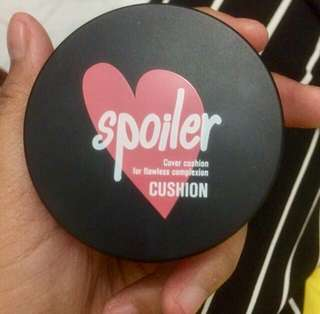 Spoiler Cover Cushion for Flawless Complexion Cushion