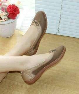Flat shoes mocca