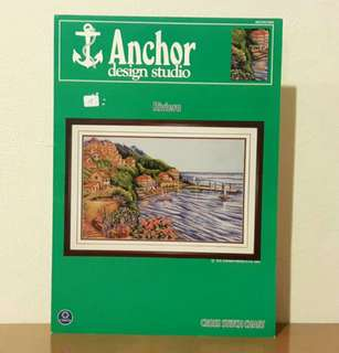 "Vintage Anchor Cross Stitch Leaflet - ""Riviera"""