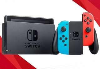 LOCAL Nintendo Switch BNIB 1 yr warranty