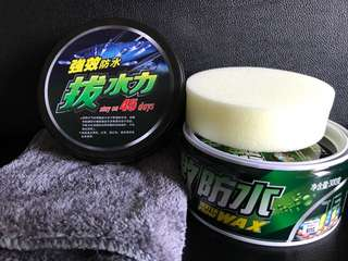 Botny Hydrophobic(Water Repellent) Wax with Sponge Applicator and FREE microfiber cloth