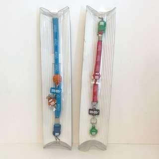 M&M 絕版電話繩 mobile strap