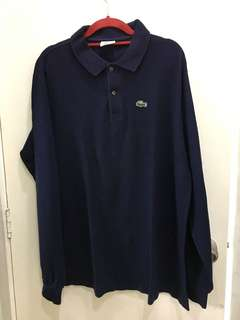 Lacoste Orig Classic Longsleeves Shirt Size 6