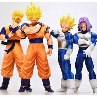 Dragonball ROS Figures Set Sale Original