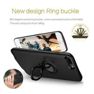 Battery Case Powerbank for iPhone with Magnet Ring Holder 7200mAh