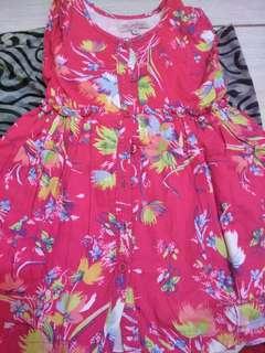 Flower dress (pink)