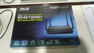 Asus Router RT-AC1200G plus with 4 antenna