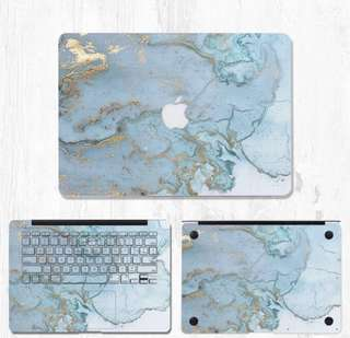 "Macbook Pro 13"" Marble Skin Sticker Decal"