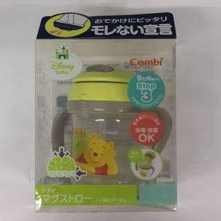 Combi Te Tete Mag Straw Pooh Age Target Age: 9 months~