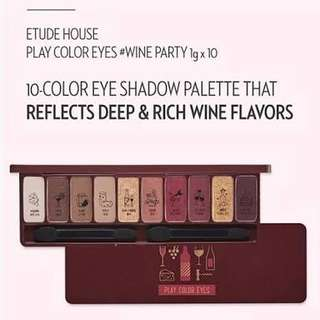 Etude House Play Color Eyes-Wine Party
