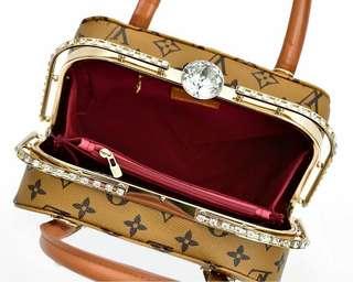 Tas Louis Vuitton Behel Diamond  mini