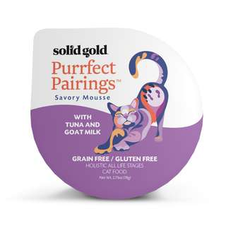 SOLID GOLD  PURRFECT PAIRINGS MOUSSE - TUNA & GOAT MILK (Case of 18)