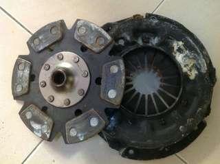TRINITI clutch & pressure plate