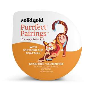 SOLID GOLD PURRFECT PAIRINGS MOUSSE - WHITEFISH & GOAT MILK (Case of 18)